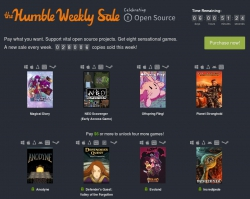 Humble Weekly Sale: Celebrating Open Source