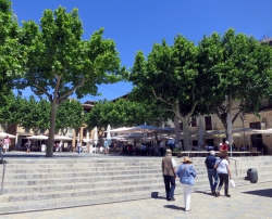 Plaça Major in Pollença.