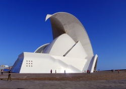 Auditorio de Tenerife in Santa Cruz.